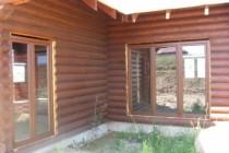 Dom całoroczny 206 m<sup>2</sup> bal fi 24 cm